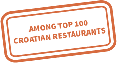 Restaurant Mirni Kutak has been included in the top 100 restaurants